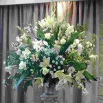 Sarah front of foyer arrangement